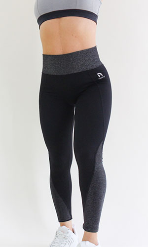 anhfit waist trimming legging-black